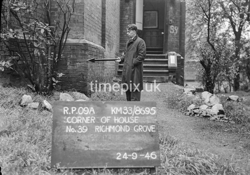 SJ869509A, Ordnance Survey Revision Point photograph in Greater Manchester