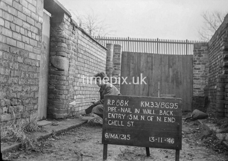 SJ869588K, Ordnance Survey Revision Point photograph in Greater Manchester