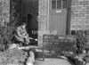 SJ879584B, Ordnance Survey Revision Point photograph in Greater Manchester