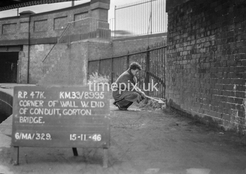 SJ899547K, Ordnance Survey Revision Point photograph in Greater Manchester