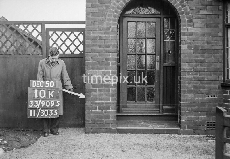 SJ909510K, Ordnance Survey Revision Point photograph in Greater Manchester