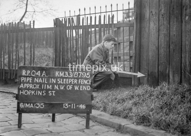 SJ879504A, Ordnance Survey Revision Point photograph in Greater Manchester
