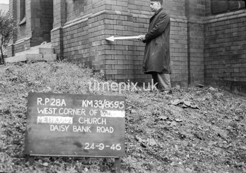 SJ869528A, Ordnance Survey Revision Point photograph in Greater Manchester