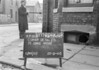 SJ869566B, Ordnance Survey Revision Point photograph in Greater Manchester