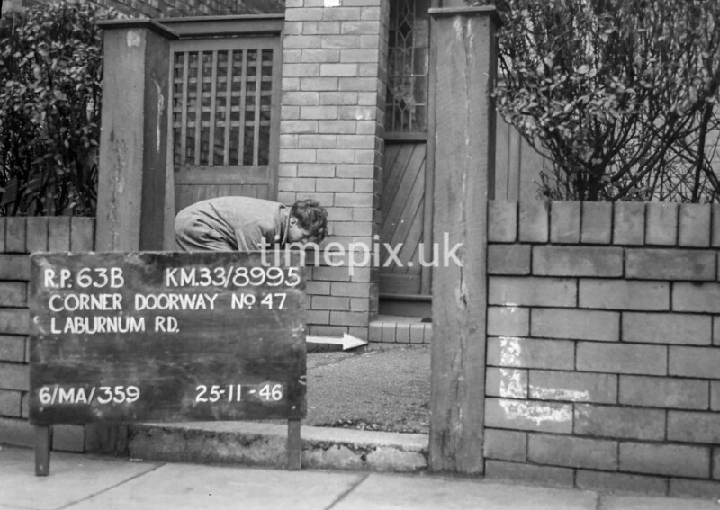 SJ899563B, Ordnance Survey Revision Point photograph in Greater Manchester