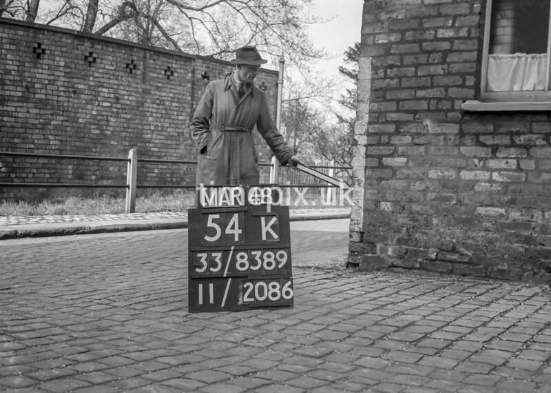SJ838954K, Ordnance Survey Revision Point photograph in Greater Manchester