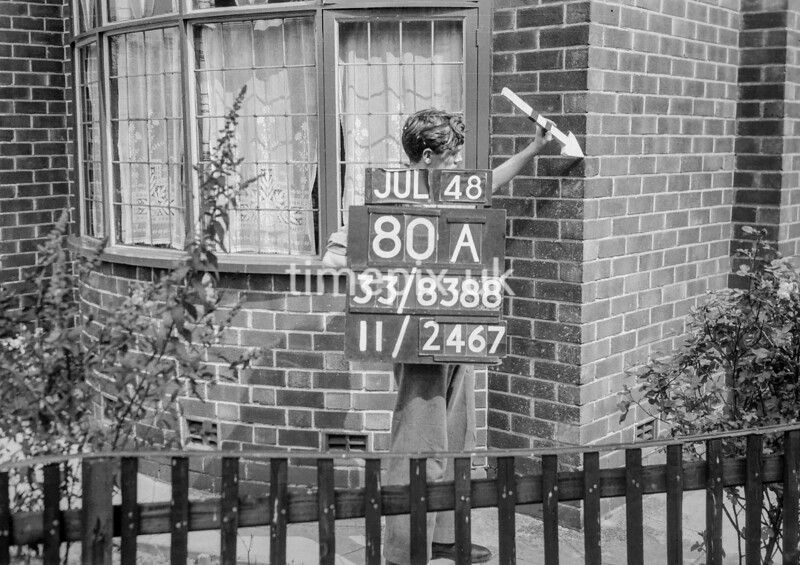 SJ838880A, Ordnance Survey Revision Point photograph in Greater Manchester