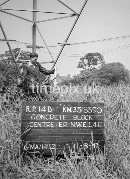 SJ839014B, Ordnance Survey Revision Point photograph in Greater Manchester