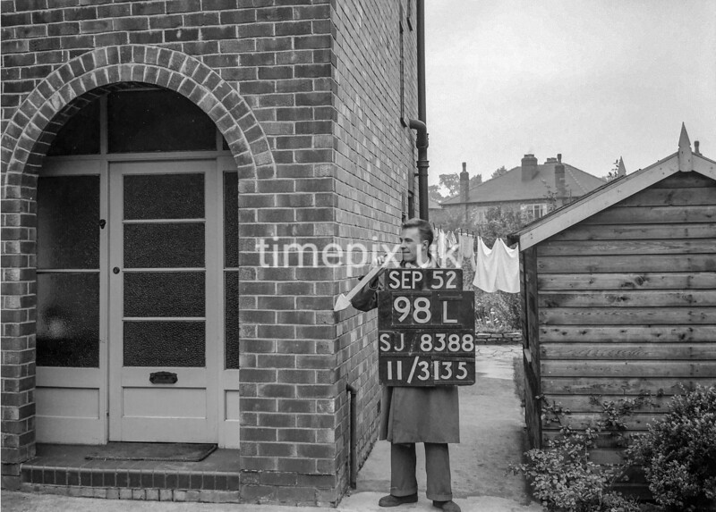 SJ838898L, Ordnance Survey Revision Point photograph in Greater Manchester