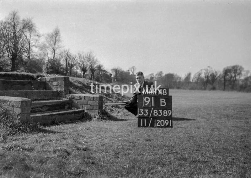 SJ838991B, Ordnance Survey Revision Point photograph in Greater Manchester