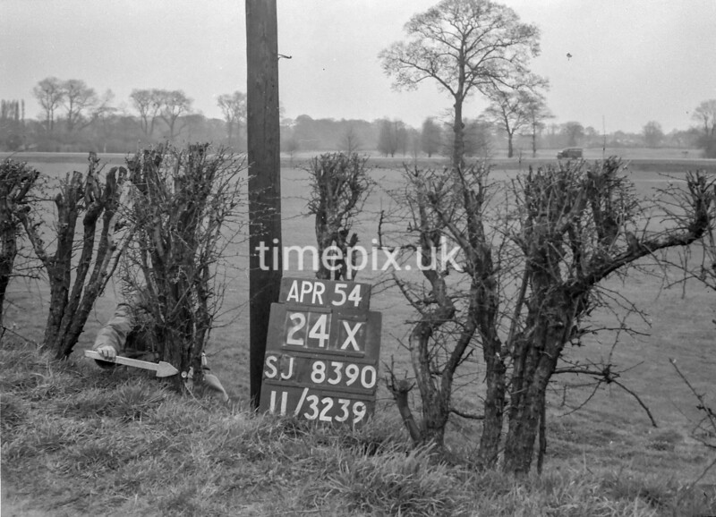 SJ839024X, Ordnance Survey Revision Point photograph in Greater Manchester