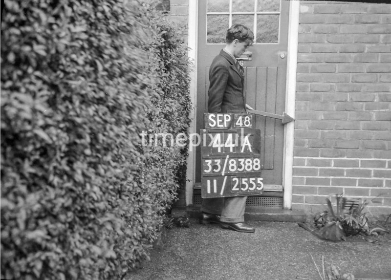 SJ838844A, Ordnance Survey Revision Point photograph in Greater Manchester
