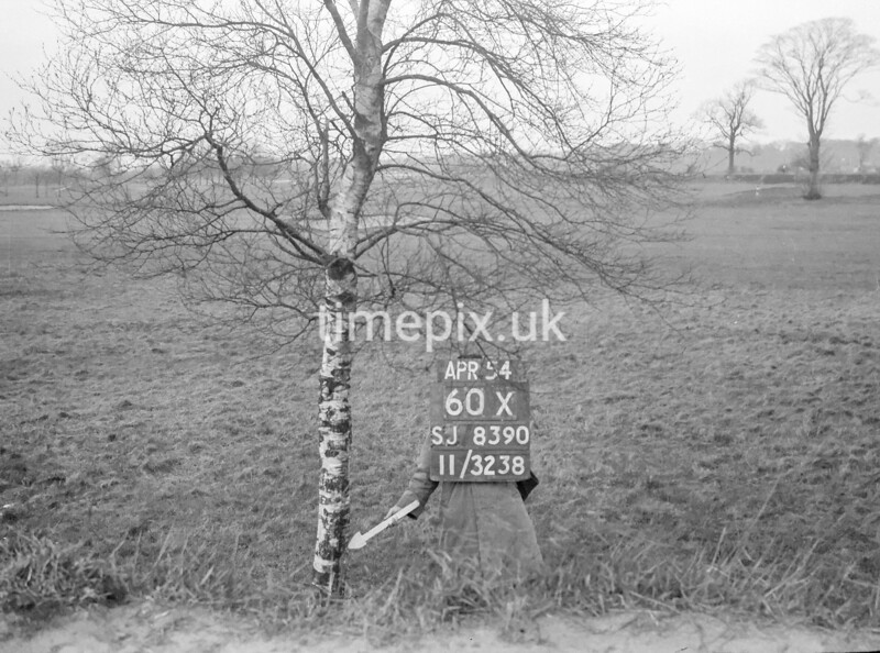 SJ839060X, Ordnance Survey Revision Point photograph in Greater Manchester