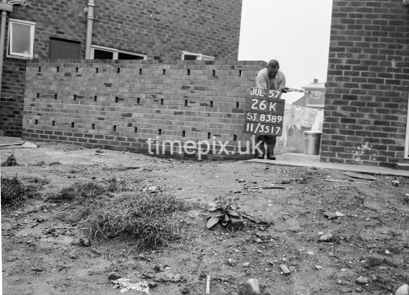 SJ838926K, Ordnance Survey Revision Point photograph in Greater Manchester