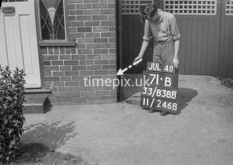SJ838871B, Ordnance Survey Revision Point photograph in Greater Manchester