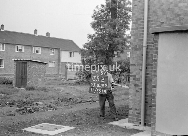 SJ838935B, Ordnance Survey Revision Point photograph in Greater Manchester