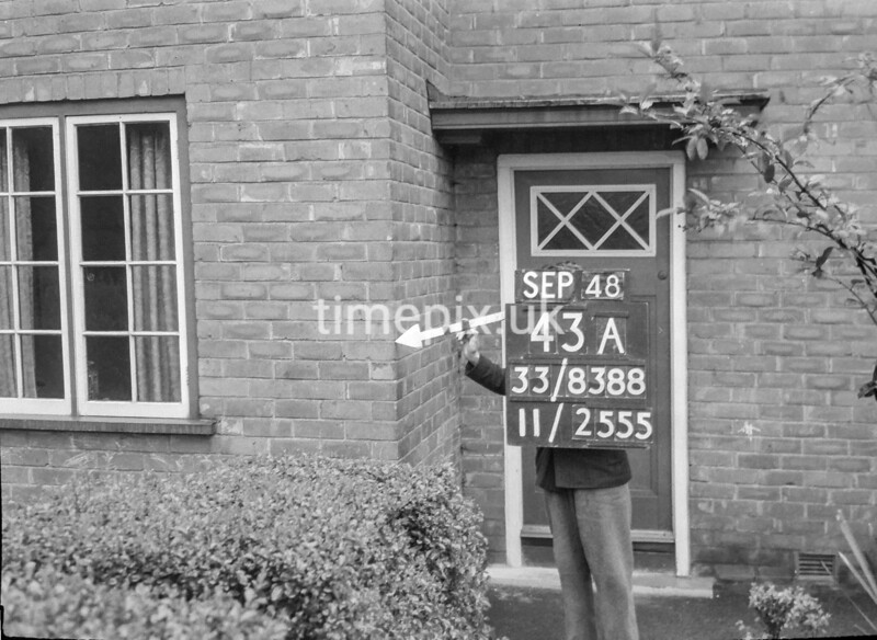 SJ838843A2, Ordnance Survey Revision Point photograph in Greater Manchester