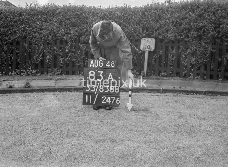 SJ838883A, Ordnance Survey Revision Point photograph in Greater Manchester