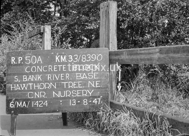 SJ839050A, Ordnance Survey Revision Point photograph in Greater Manchester