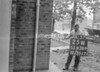 SJ838925W, Ordnance Survey Revision Point photograph in Greater Manchester