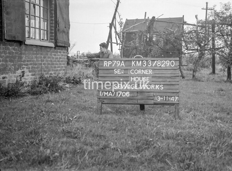 SJ829079A, Ordnance Survey Revision Point photograph in Greater Manchester
