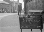SJ839010C, Ordnance Survey Revision Point photograph in Greater Manchester