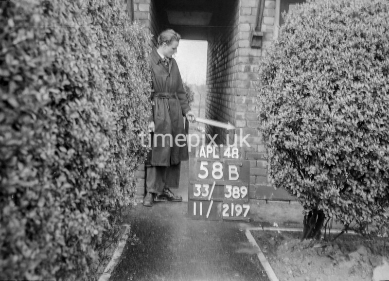 SJ838958B, Ordnance Survey Revision Point photograph in Greater Manchester