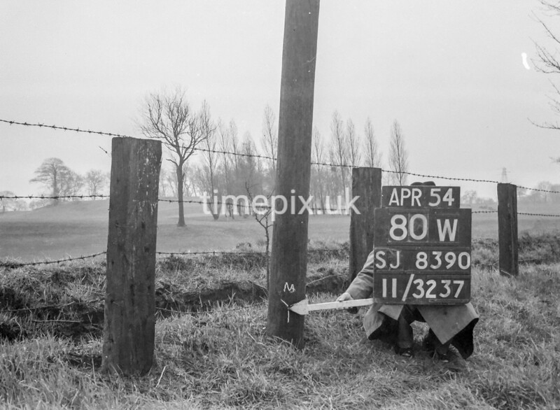 SJ839080W, Ordnance Survey Revision Point photograph in Greater Manchester