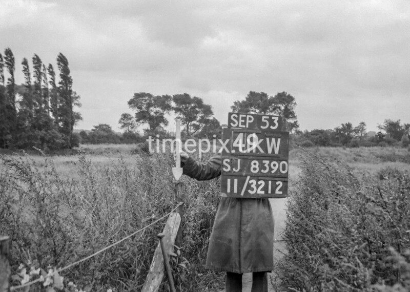 SJ839049W, Ordnance Survey Revision Point photograph in Greater Manchester