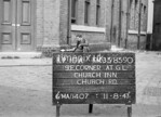 SJ839010A, Ordnance Survey Revision Point photograph in Greater Manchester