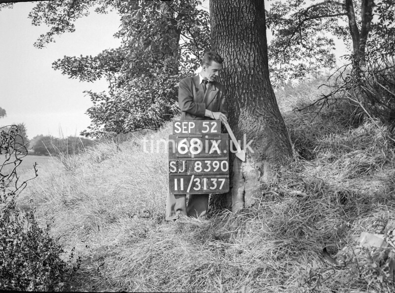 SJ839068A, Ordnance Survey Revision Point photograph in Greater Manchester