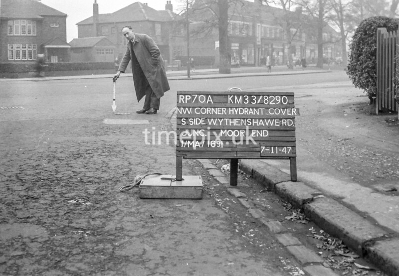 SJ829070A, Ordnance Survey Revision Point photograph in Greater Manchester