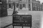 SJ899049B, Ordnance Survey Revision Point photograph in Greater Manchester