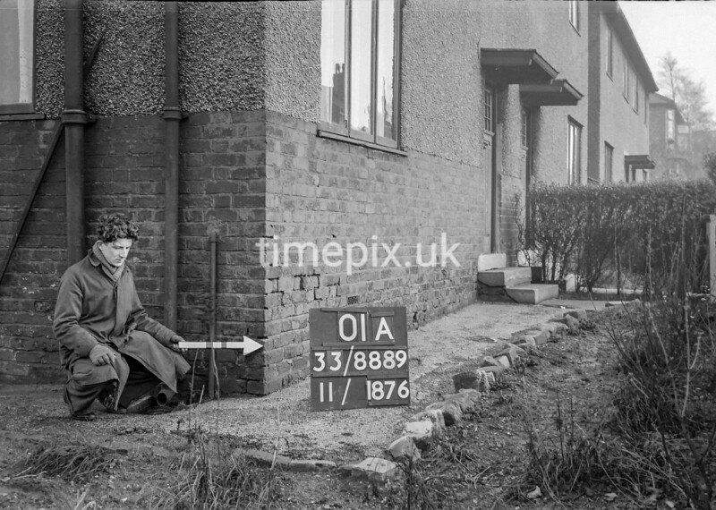 SJ888901A, Ordnance Survey Revision Point photograph in Greater Manchester