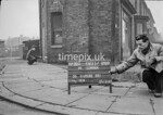 SJ898932A, Ordnance Survey Revision Point photograph in Greater Manchester