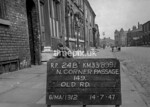 SJ899124B, Ordnance Survey Revision Point photograph in Greater Manchester