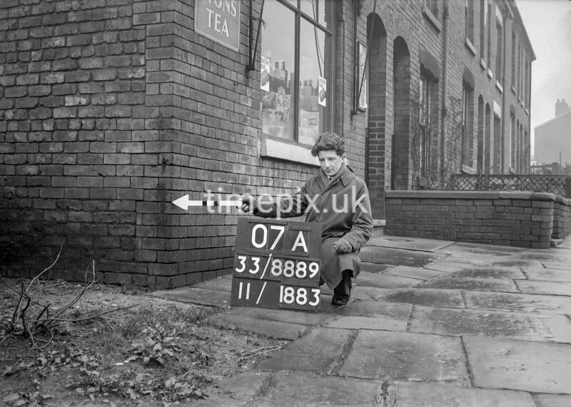 SJ888907A, Ordnance Survey Revision Point photograph in Greater Manchester