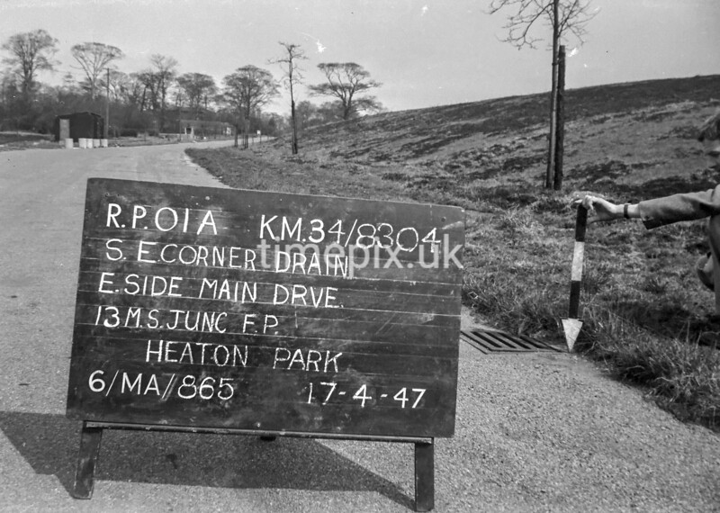 SD830401A, Ordnance Survey Revision Point photograph in Greater Manchester
