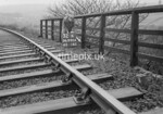 SD990632K, Man marking Ordnance Survey minor control revision point with an arrow in 1950s