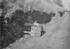 SD990439B, Man marking Ordnance Survey minor control revision point with an arrow in 1950s