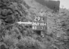 SD990429L, Man marking Ordnance Survey minor control revision point with an arrow in 1950s