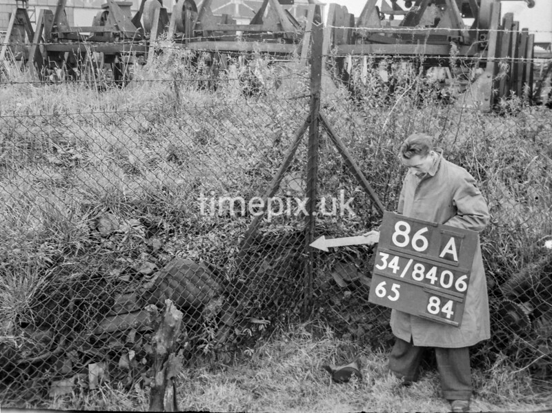 SD840686A, Ordnance Survey Revision Point photograph in Greater Manchester