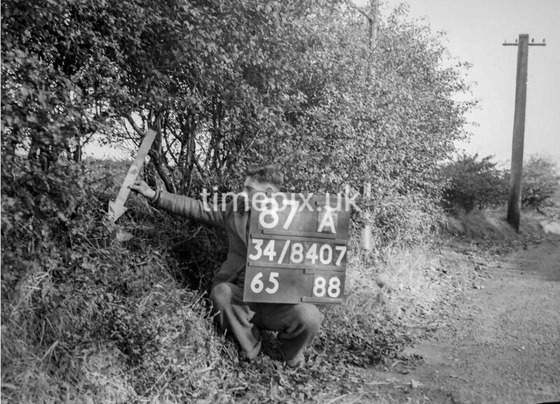 SD840787A, Ordnance Survey Revision Point photograph in Greater Manchester