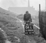 SD880604L, Ordnance Survey Revision Point photograph in Greater Manchester