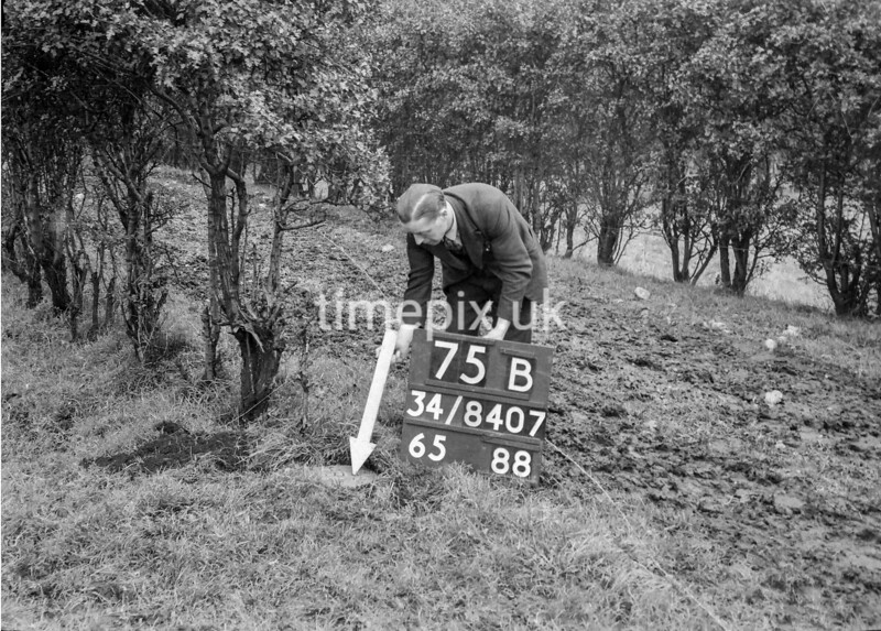 SD840775B, Ordnance Survey Revision Point photograph in Greater Manchester