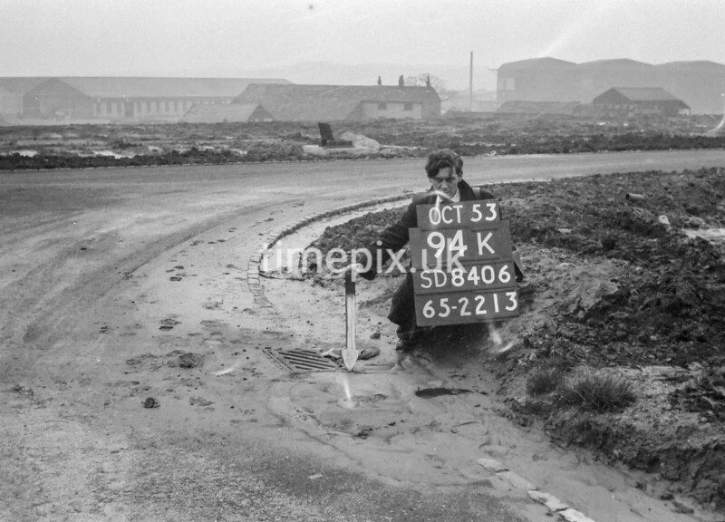SD840694K, Ordnance Survey Revision Point photograph in Greater Manchester