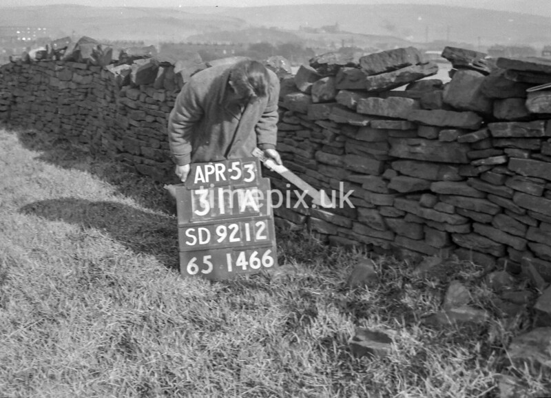 SD921231A, Ordnance Survey Revision Point photograph in Greater Manchester