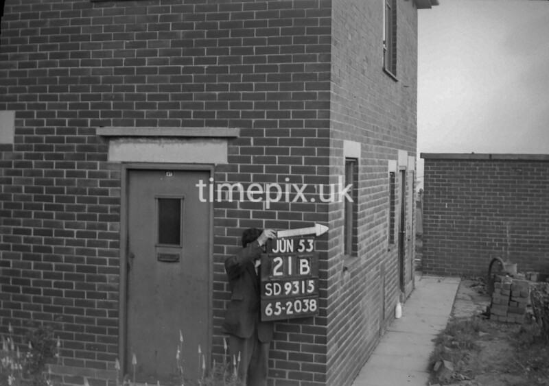 SD931521B, Ordnance Survey Revision Point photograph in Greater Manchester