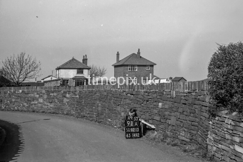 SD921391A, Ordnance Survey Revision Point photograph in Greater Manchester