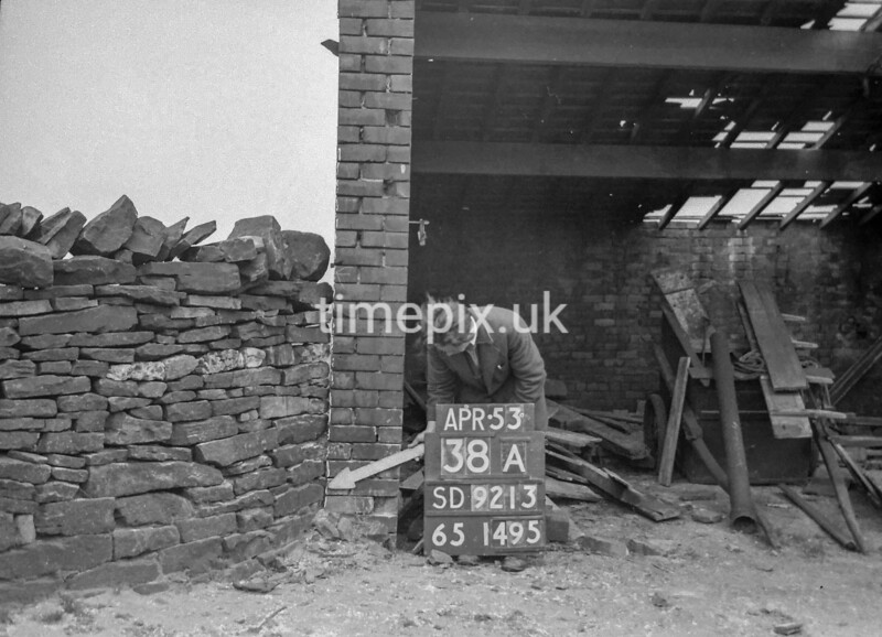 SD921338A, Ordnance Survey Revision Point photograph in Greater Manchester